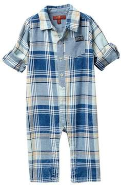 7 For All Mankind Woven Coverall (Baby Boys)