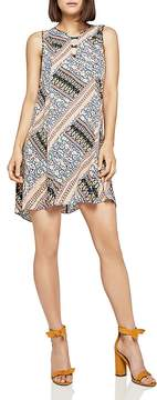 BCBGeneration Crisscross Detail Printed Dress