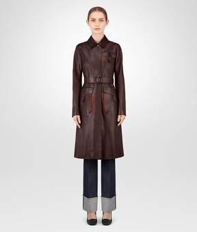 Bottega Veneta Dark Barolo Calf Coat
