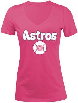 5th & Ocean Houston Astros Retro Inspo T-Shirt, Girls (4-16)