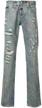 Philipp Plein Cruise Straight Cut jeans