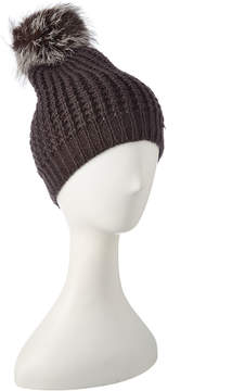Jocelyn Dark Grey Knit Hat
