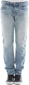 Edwin Light Blue Cotton Jeans