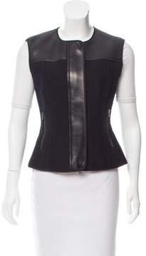 Reed Krakoff Leather-Paneled Vest