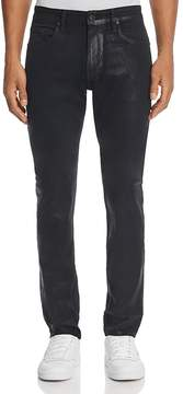 Paige Lennox Skinny Fit Jean in Iron Coated Denim - 100% Exclusive