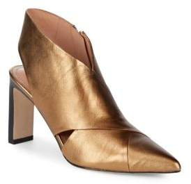 Sigerson Morrison Halima Pointed Leather Heels