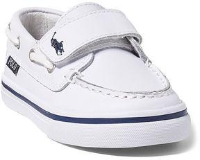 Ralph Lauren Toddler Batten Leather Ez Boat Shoe