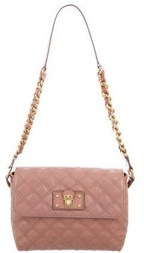 Marc Jacobs Quilted Leather Bag - PINK - STYLE