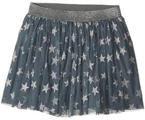 Stella McCartney Honey Glittered Star Tulle Skirt