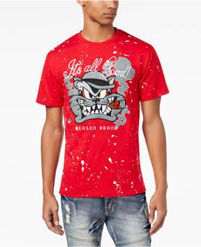 Reason Men's Graphic-Print Paint Splatter T-Shirt