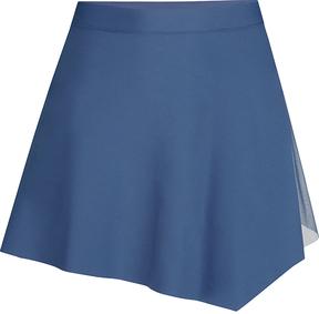 Capezio Blue Asymmetrical Skirt - Women