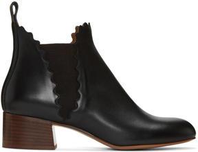 Chloé Black Lauren Boots