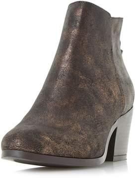Head Over Heels *Head Over Heels by Dune Bronze 'Pretty' Ankle Boots