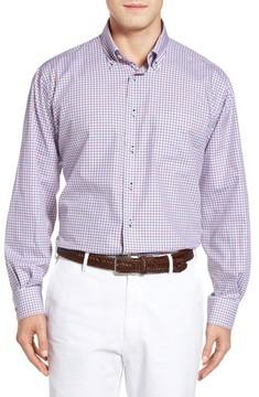 Robert Talbott Men's Estate Classic Fit Check Sport Shirt