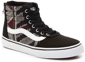 Vans Maddie Hi Zip Toddler & Youth High-Top Sneaker - Girl's