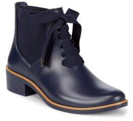 Bernardo Lace Up Rain Boots