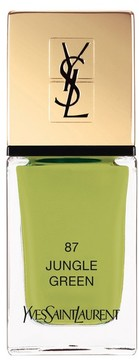 Yves Saint Laurent 'La Laque Couture' Nail Lacquer - 87 Exotic Green