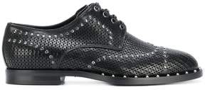 Dolce & Gabbana studded Derby shoes