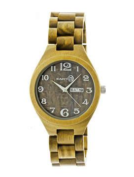 Earth Wood Sapwood Unisex Green Bracelet Watch-Ethew1604