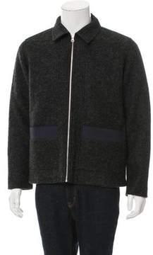 Folk Wool Harrington Jacket