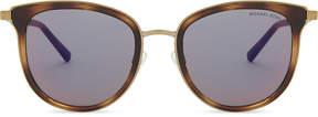 Michael Kors 0MK1023 Brown evy square-frame sunglasses