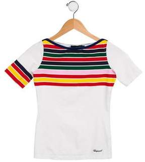 DSQUARED2 Girls' Striped Knit Top