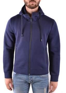 Brian Dales Men's Blue Cotton Sweatshirt.