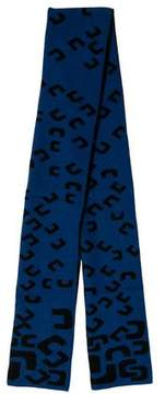 Diane von Furstenberg Printed Knit Scarf