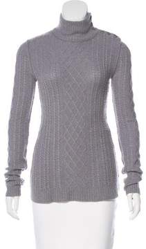 Inhabit Cable Knit Turtleneck Sweater