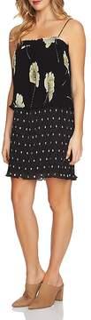 1 STATE 1.STATE Pattern Block Popover Dress