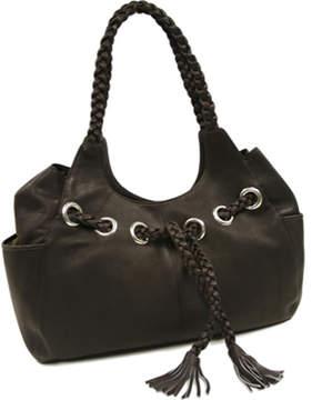 Piel Leather Braided Hobo 2748 (Women's)