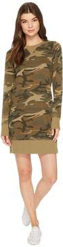 Alternative Burnout French Terry Sweatshirt Dress Women's Dress