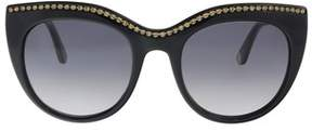Juicy Couture Ju595/s 0807/9o Black Cat Eye Sunglasses.