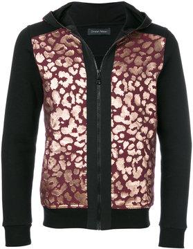 Christian Pellizzari leopard print hoodie