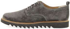 Pom D'Api Unisex Velours Lace-Up Derby Shoe