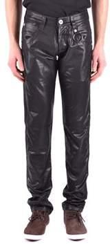 Dirk Bikkembergs Men's Black Cotton Jeans.