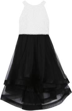 Speechless Girls 7-16 Rhinestone Bodice Dress