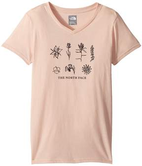 The North Face Kids Short Sleeve Bottle Source Tee Girl's T Shirt