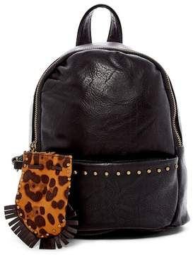 Madden-Girl Mini Studded Faux Leather Backpack