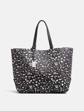 Calvin Klein Jeans Pebble Printed Large Shopper Bag