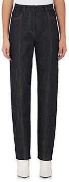 Derek Lam Women's High-Rise Tapered-Leg Jeans