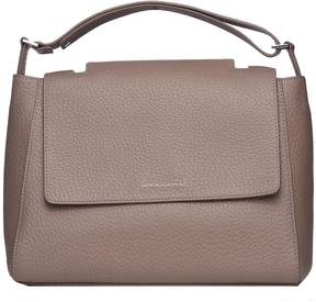 Orciani Sveva M Taupe Shoulder Bag