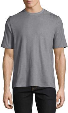Claiborne Ss Drop Needle Short Sleeve Crew Neck T-Shirt