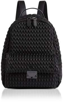 Emporio Armani Quilted Eco-leather Backpack
