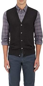 Isaia Men's Merino Wool Cardigan Vest
