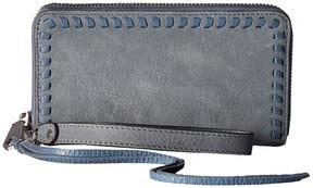 Rebecca Minkoff Vanity Phone Wallet Wallet Handbags - ALMOND - STYLE