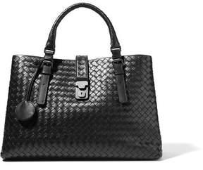 Bottega Veneta Roma Large Intrecciato Leather Tote - Black