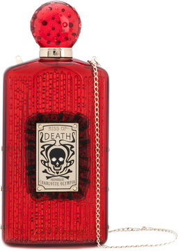 Charlotte Olympia Kiss Of Death clutch