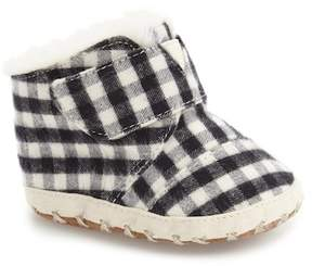 Toms Cuna Faux Fur Crib Shoe (Baby)