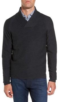 Rodd & Gunn Men's Crossover Collar Merino Wool Sweater